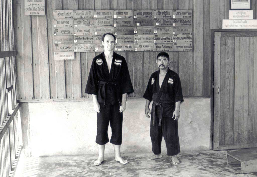 Dan Chak Thailand  city photo : This picture was taken in the 1970's and shows Ajarn Precha with Chuck ...